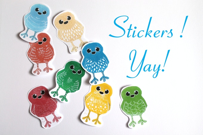Who Doesn't Love Stickers?