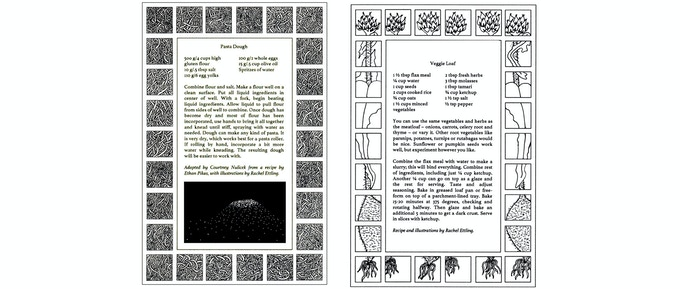 Example of KADABRA Vol. 5 pages. Illustrations pictured by Rachel Ettling.