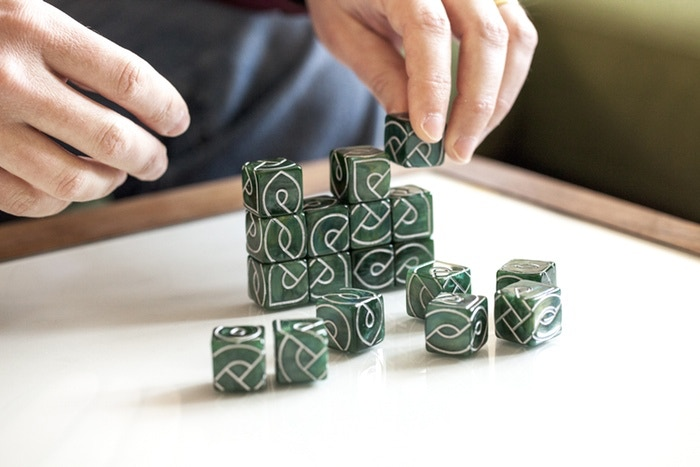 Knot Dice: part game, part puzzle