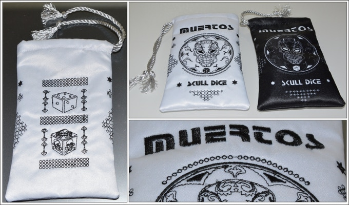 White bag with embroidery