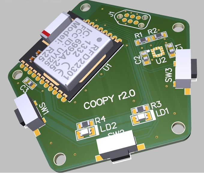 COOPY's PCB