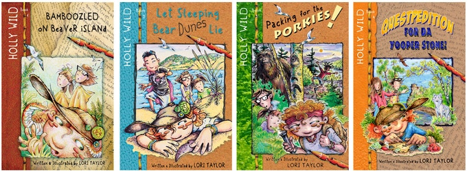 Holly Wild Series Chapter Books - For ages 7-12