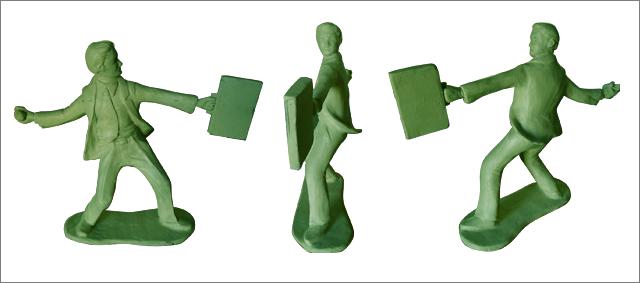 """""""Insurance Grenade"""" secondary unlocked sculpture"""