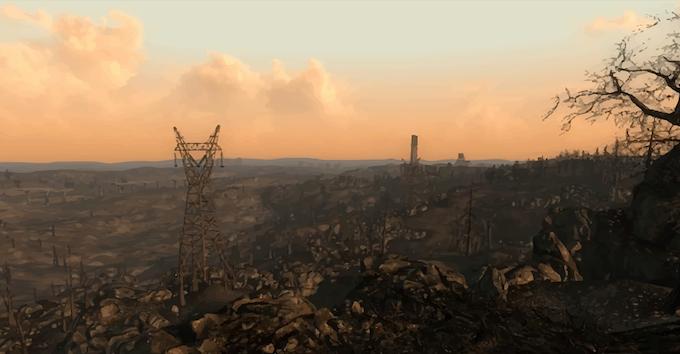 22xx - Earth is a desolate wasteland
