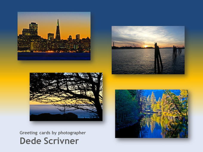 Greeting cards by Dede Scrivner