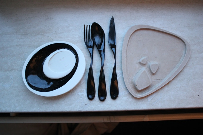 You can even print your own cutlery and plates!