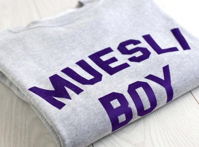 Le sweat Muesli Boys pour les cereal killers.