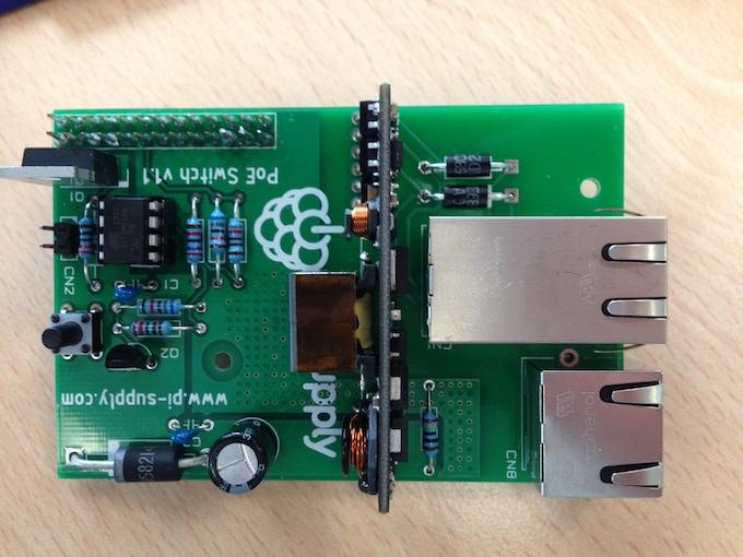 Pi PoE Model B Kit