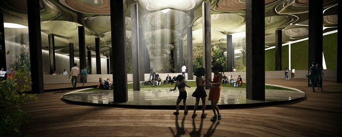 Rendering of the Lowline, courtesy of Raad Studio.