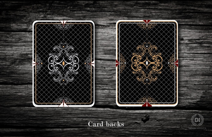 While the Gold and Silver Edt. share the same powerful number and face card designs, the card backs have variation to match the tuck and form a unique set of cards.