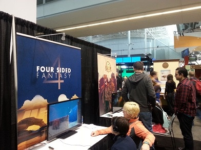 Four Sided Fantasy: A Game About the Limits of the Screen by Ludo