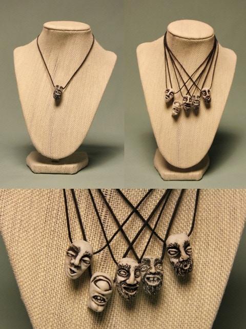 $20 Reward: Shrunken Head Necklace