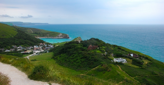 Lulworth Cove , Dorset - shot by Sam Granger