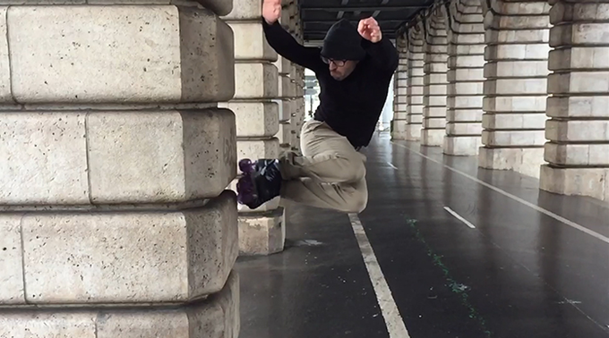 """Video Test by Walid 'Wawax"""" : Professional rollerskater  ; available on youtube."""