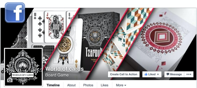 Featured on World of Cards (and other social media)
