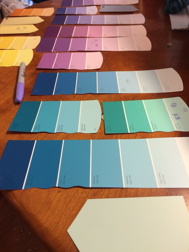 paint chips of the world, unite