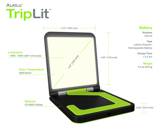 Triplit The World S First Portable Oled Light By Alex