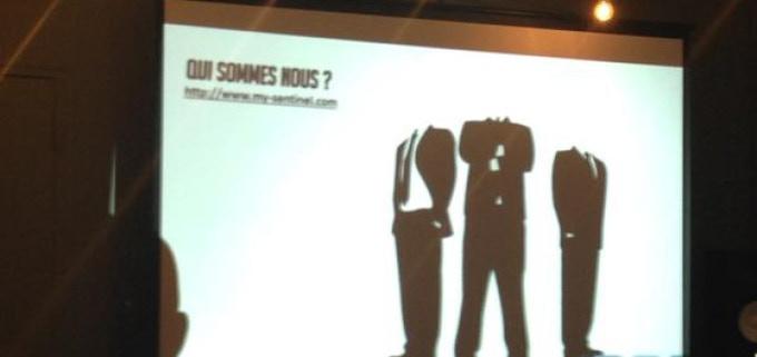 My-Sentinel à la présentation Kickstarter France