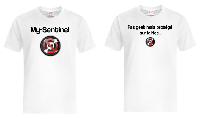 My-Sentinel - T-shirts blancs