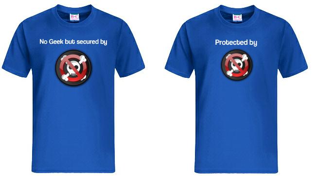 My-Sentinel - T-shirts bleus