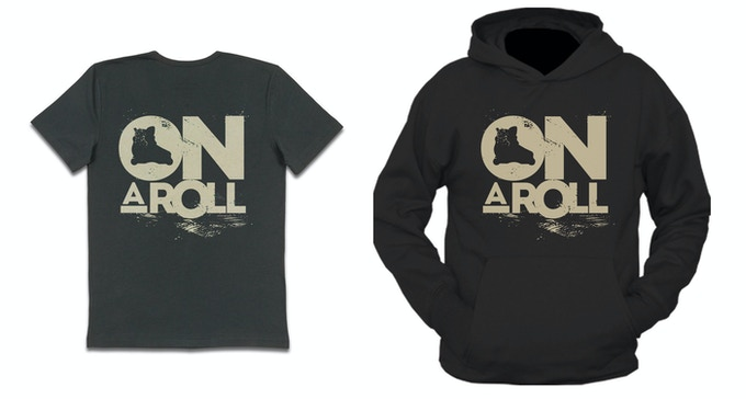 On a Roll - Shirt and Hoodie Concept