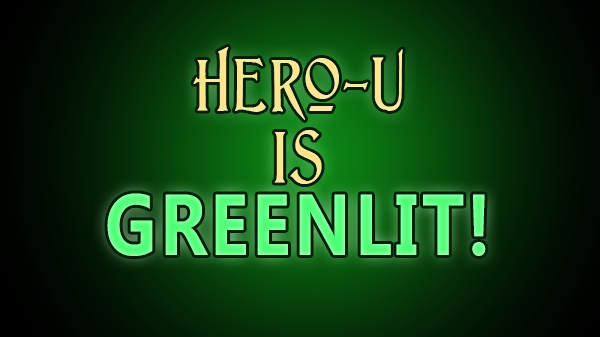 Hero-U Has Been Greenlit By the Steam Store!