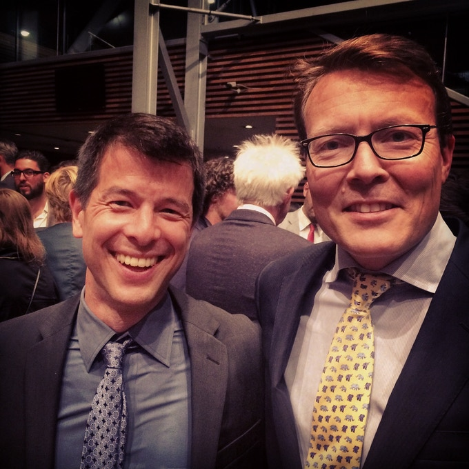 Recognition at the World Press Photo Awards Ceremony by His Royal Highness, Prince Constantijn of the Netherlands.