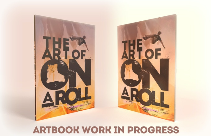 On a Roll - Art book