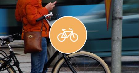¿Vas en bici? Abre cómodamente con tu móvil