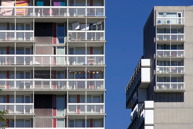 Peabody Terrace, Sert, Jackson & Associates, 1962–64.