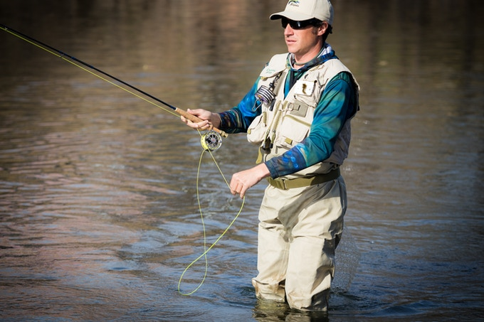 Whether giving a presentation or fly fishing you 39 re for Fly fishing backing