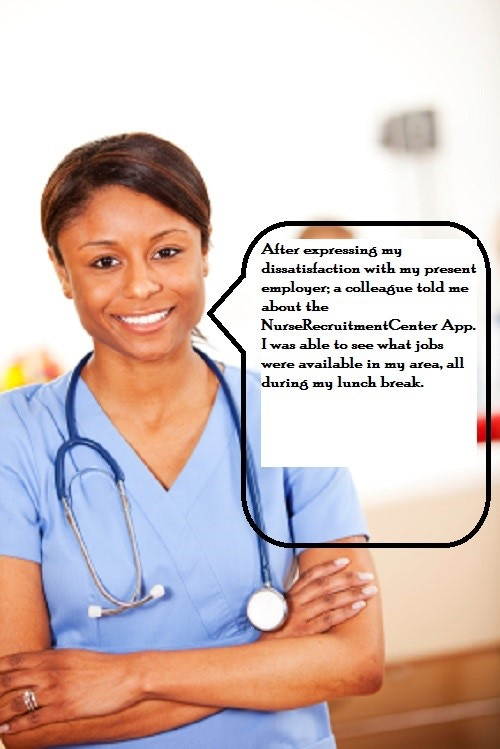 Nurses spread the word like Wild Fire. They are a beneficial source in our marketing.