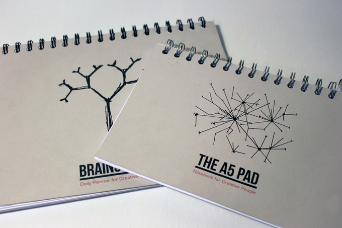 Brainstorm Planner & The A5 Pad Notebook