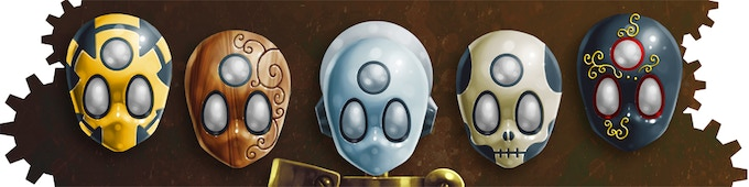 Unlock new masks that allow you to see hidden things, strengthen your magnetic fields and enhance your abilities.