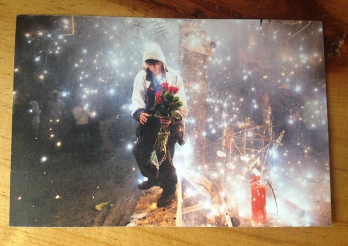"Example of 4x6"" postcard"