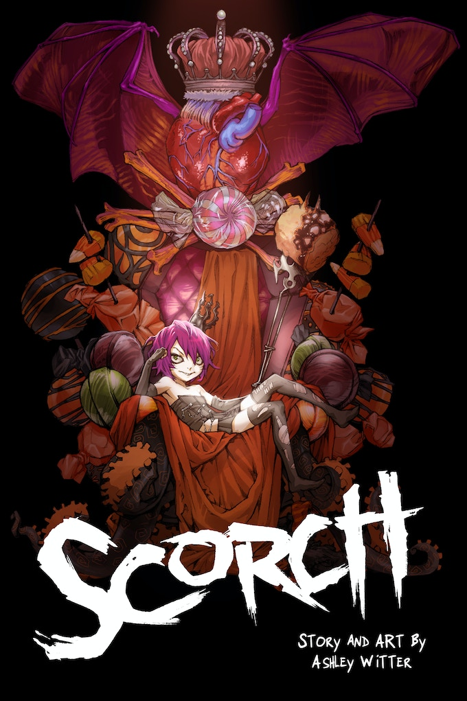 SCORCH - KS Exclusive Cover Trade Paperback