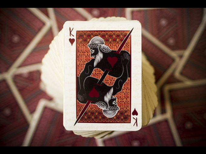 The Fall of Troy ][ Epic Playing Cards by duxoop —Kickstarter