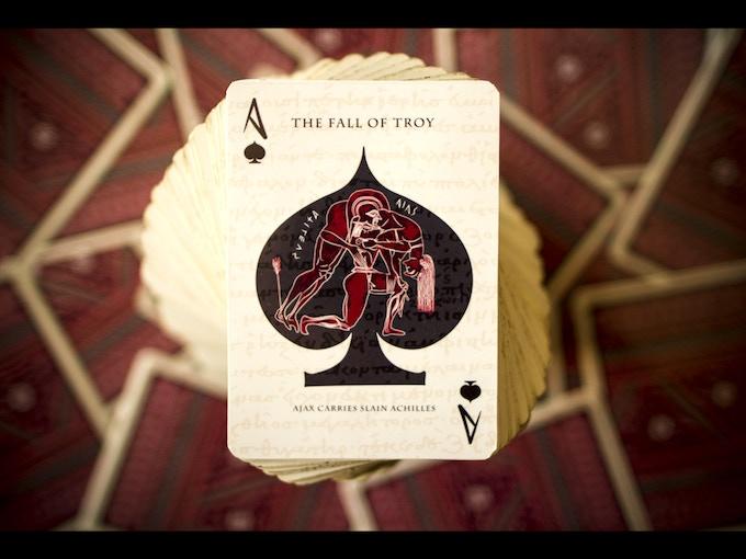 Ajax Carries Slain Achilles ][ Ace of Spades