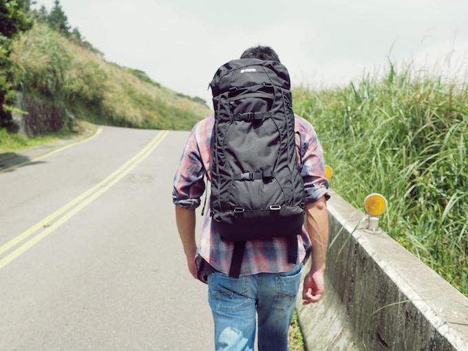 HANCHOR Travel Backpack- Breccia