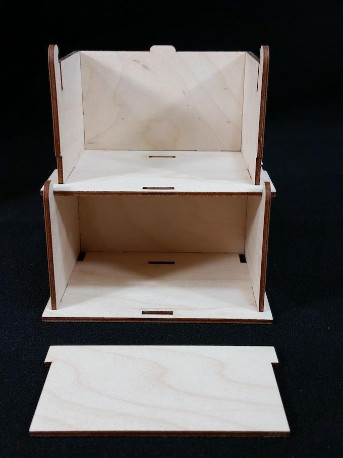Open Side Deck Box