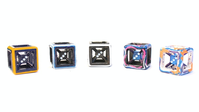 More Dice Styles Below! (Here: Gamma Ray, Black Hole, Eclipse, Wormhole, SuperNova)