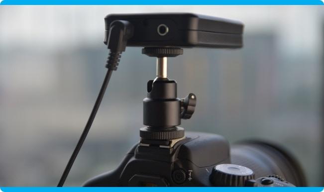 SnapPal Mounted On A Camera