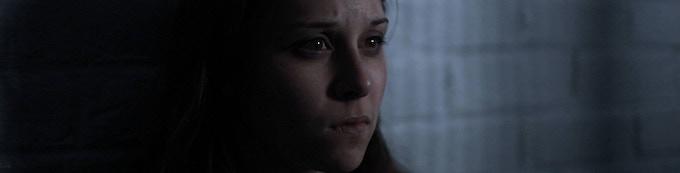 Rebecca Hausman as Abigail (film still)