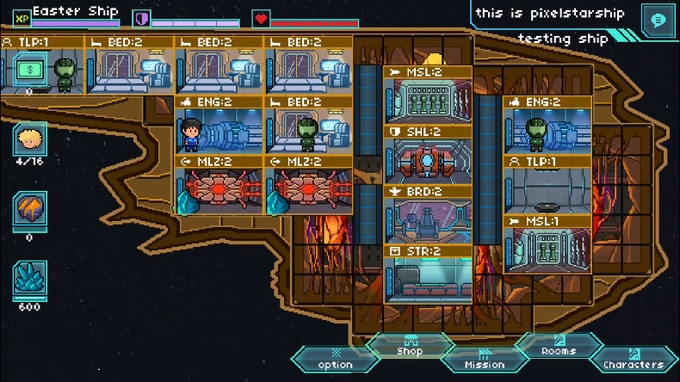 Pixel Starship Build Level