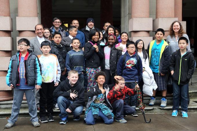Jade Journal class at Portland City Hall