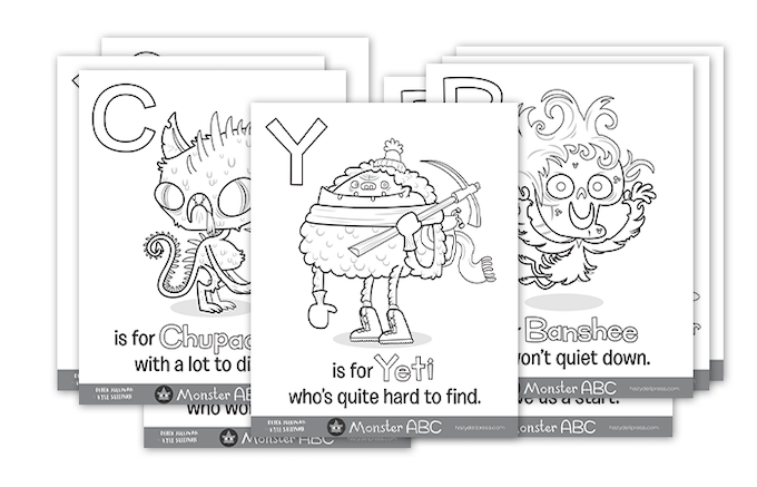 85x11 PDF Coloring Book Pages To Download And Print Out At Home