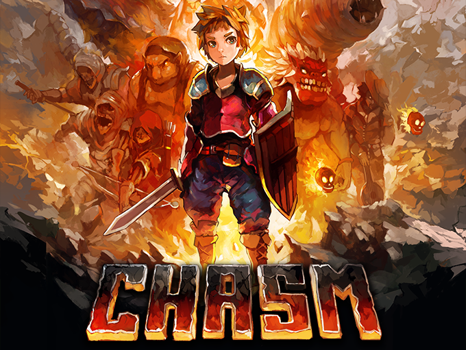 Chasm is a 2D Platform Adventure featuring procedurally generated Metroid-like dungeons and authentic pixel art.