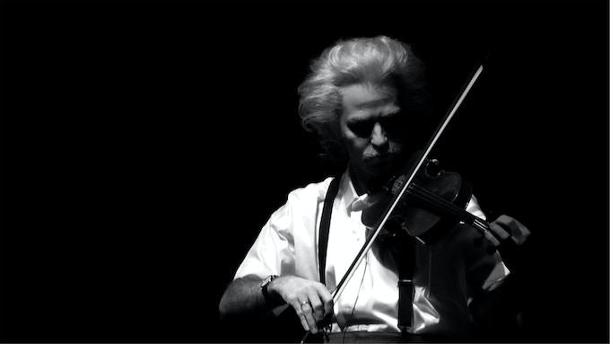 Einstein on the Beach violinist, 2012.