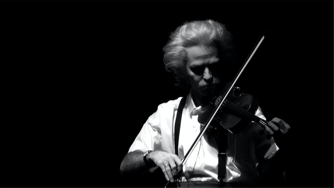 Einstein on the Beach violinist, 2012.