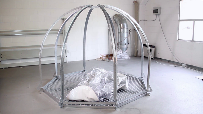 Biosphere 3's structure is a clever design and totally custom made